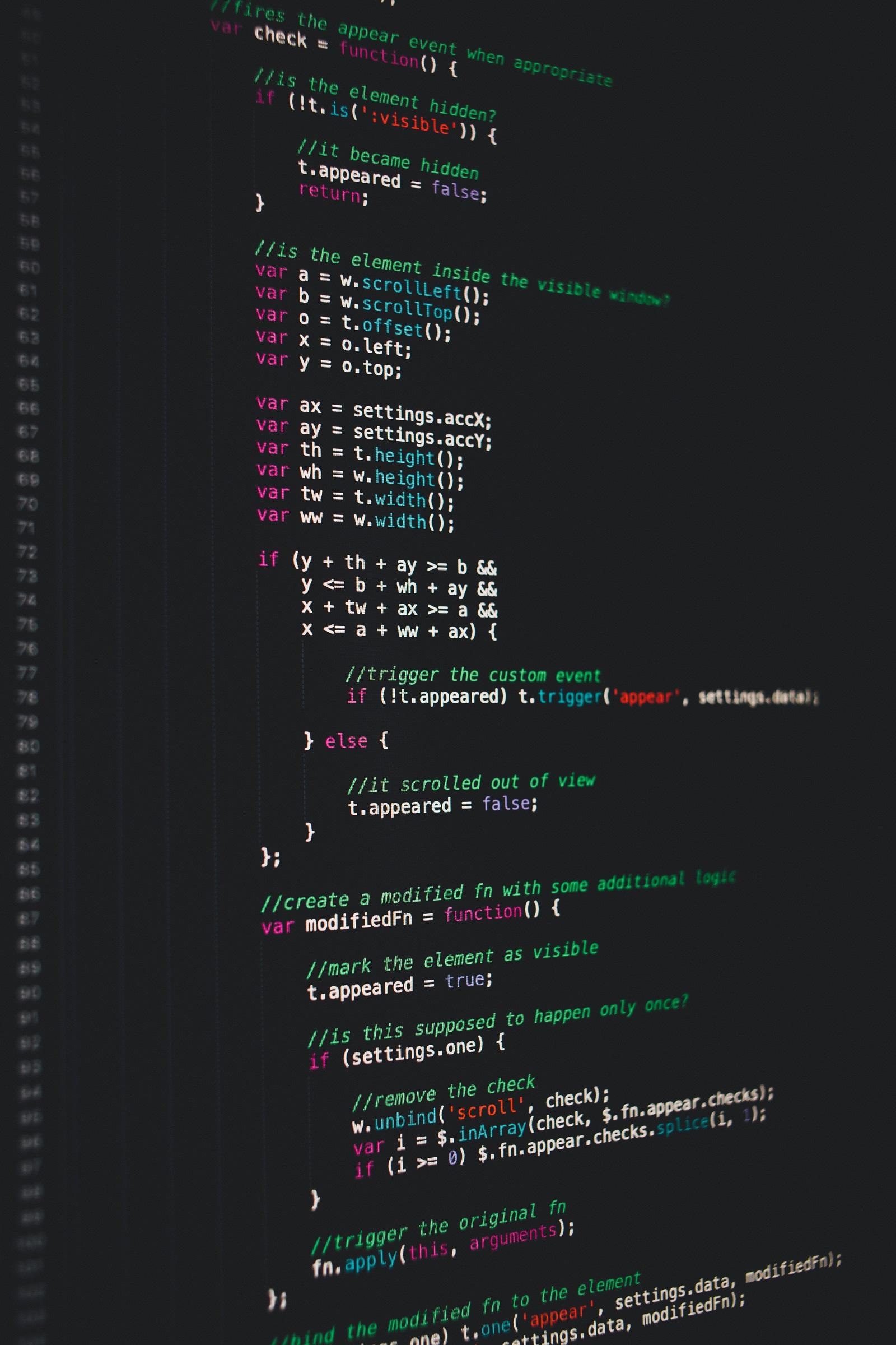 WEB puslapių programavimo kursai